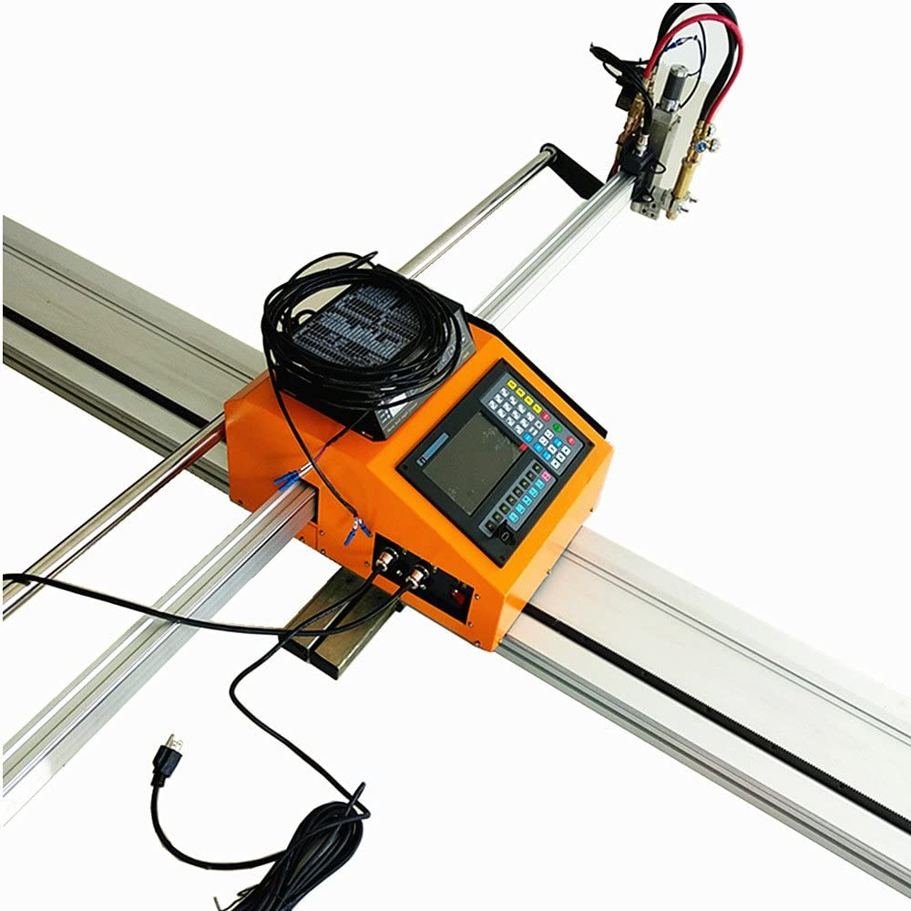 63(W) x 118(L) Inch Portable CNC Cutting Machine with THC and Supporting Oxyfuel and Plasma Cutting
