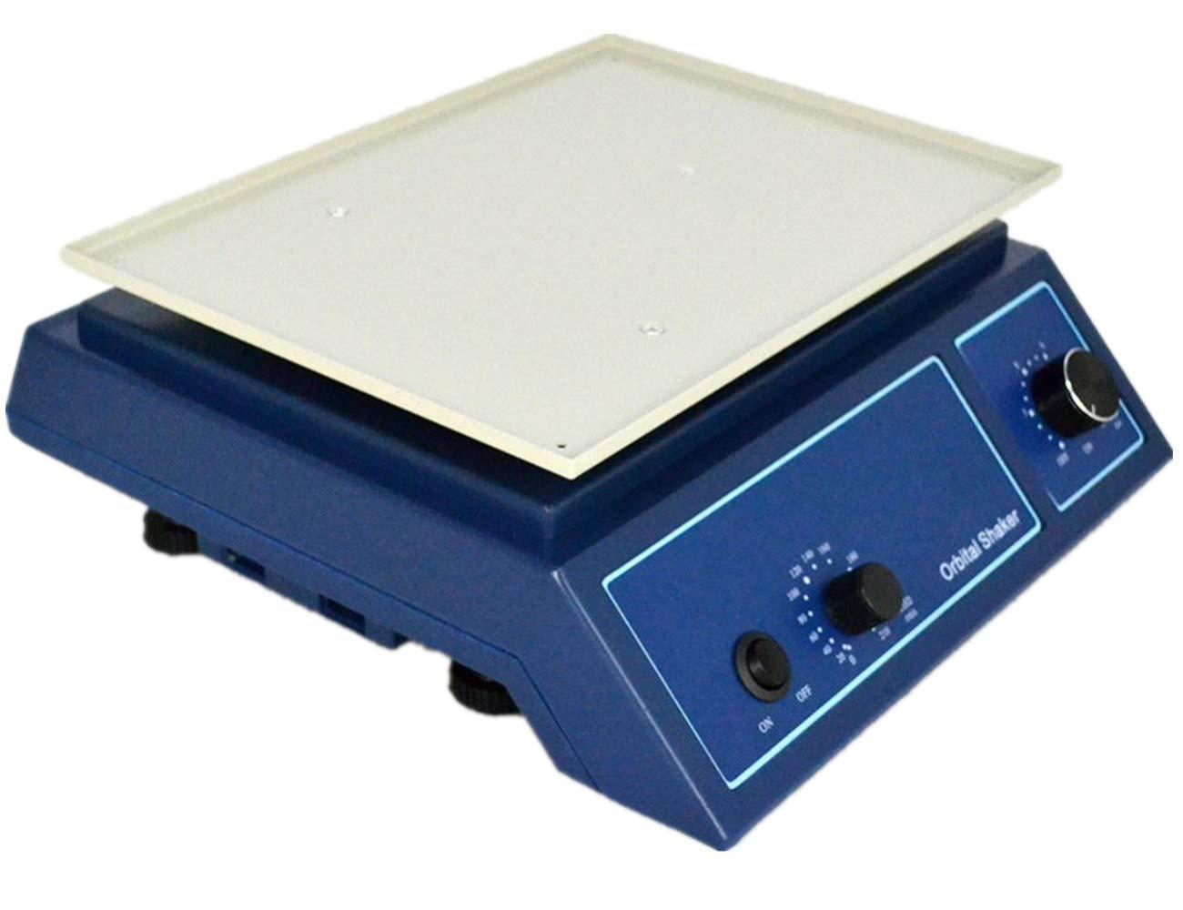 MXBAOHENG Digital Orbital Shaker Lab Oscillator Adjustable Variable Speed Rotator Oscillator 0-210 RPM 110V/220V (220V)