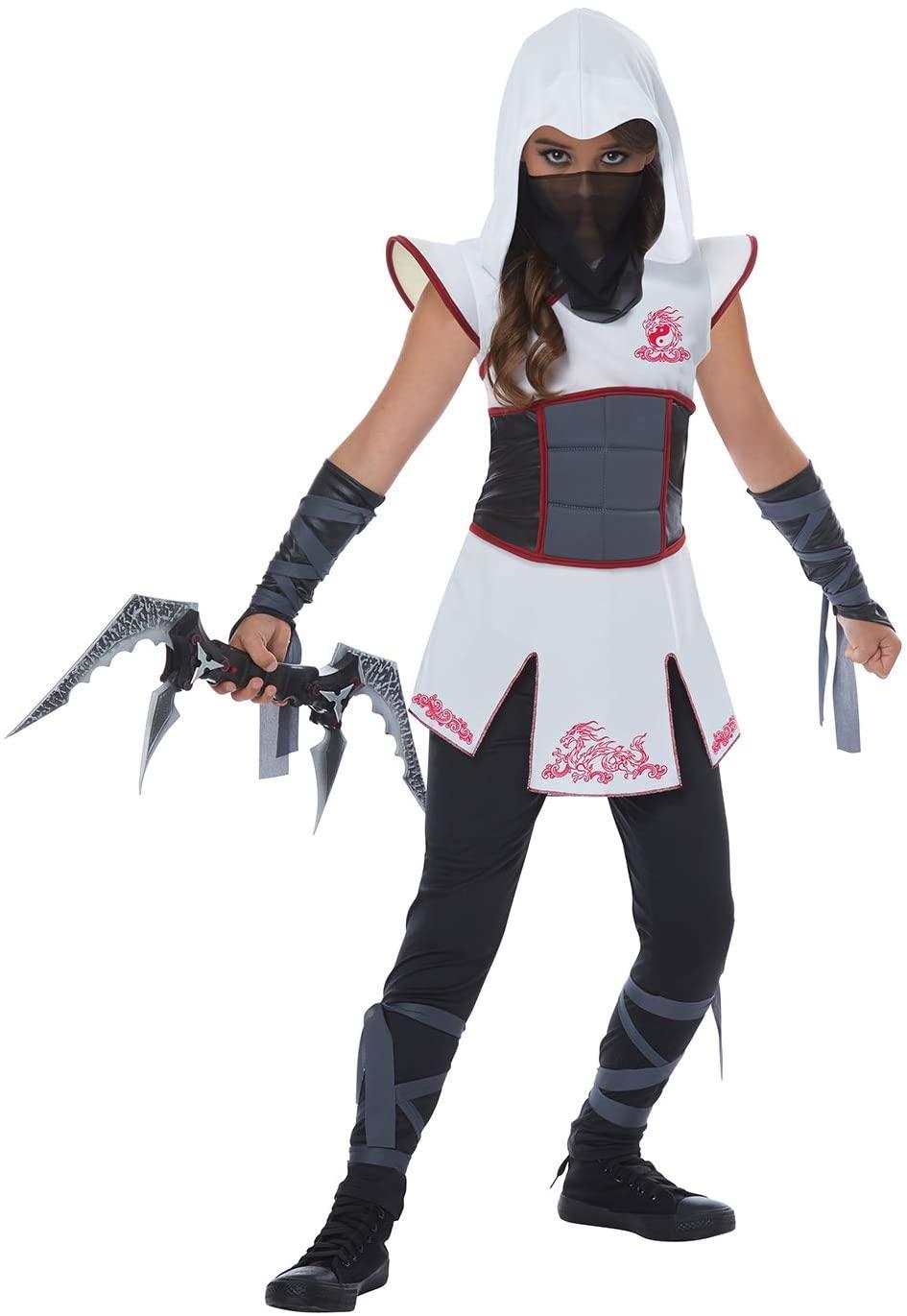 Fearless Ninja Girls Costume