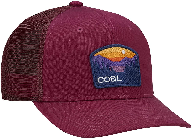 Coal Mens Hauler Low Hat, Wine, OFA