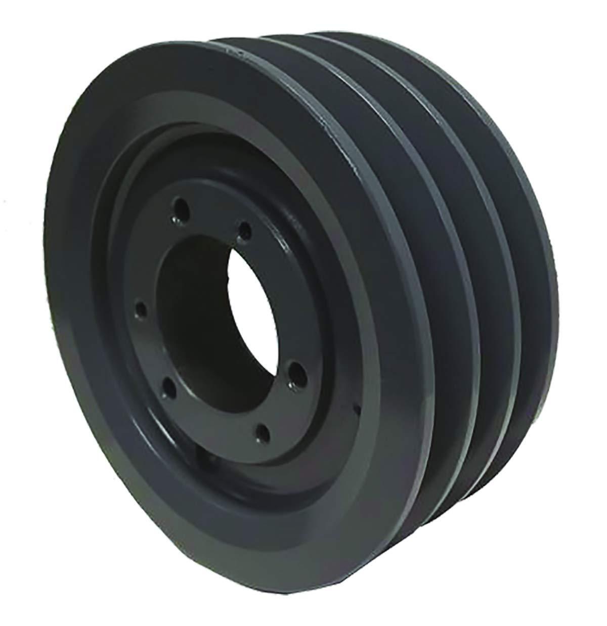 Powerhouse HTD 3B200SF V-Belt Pulley, Cast Iron