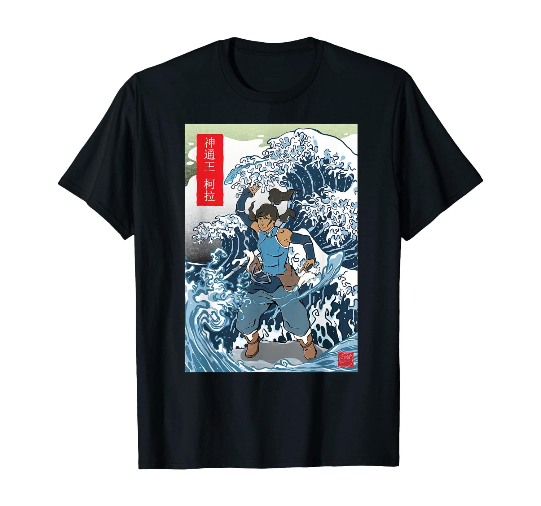 Korra Wave Red Kanji T-Shirt