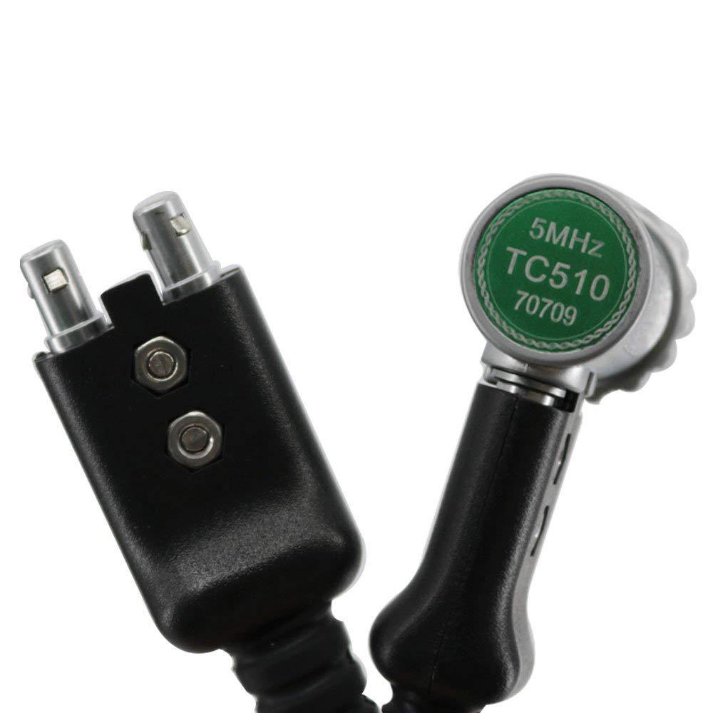 VTSYIQI TC510 5MHz Standard Probe Transducer for Ultrasonic Thickness Gauge Meter Tester UM-4D UM-4DL UM-5D UM-5DL