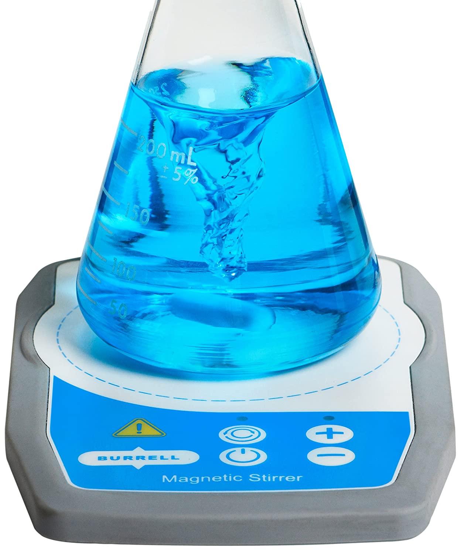 Burrell Scientific 077-860-00-00 Mini Magnetic Stirrer, Grey