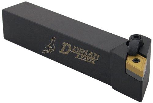 Dorian Tool MDJN Square Shank Multi-Lock Turning Holder, Left Hand Cut, 1 Shank Width, 1 Shank Height, 5 Overall Length, 3/8 Insert
