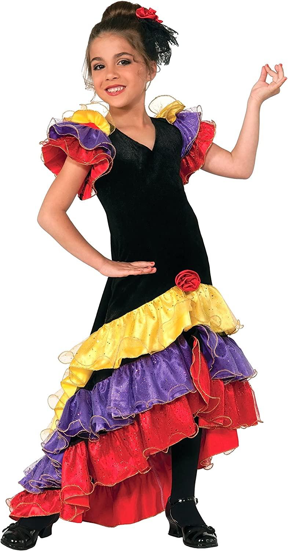 Forum Novelties Flamenco Dancer Costume, Small