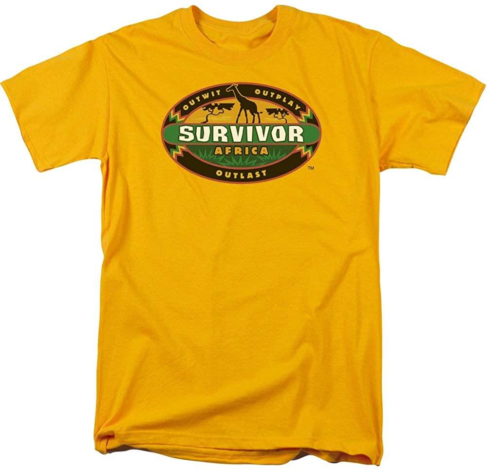 Trevco Mens Survivor Tv Series Short Sleeve T-Shirt