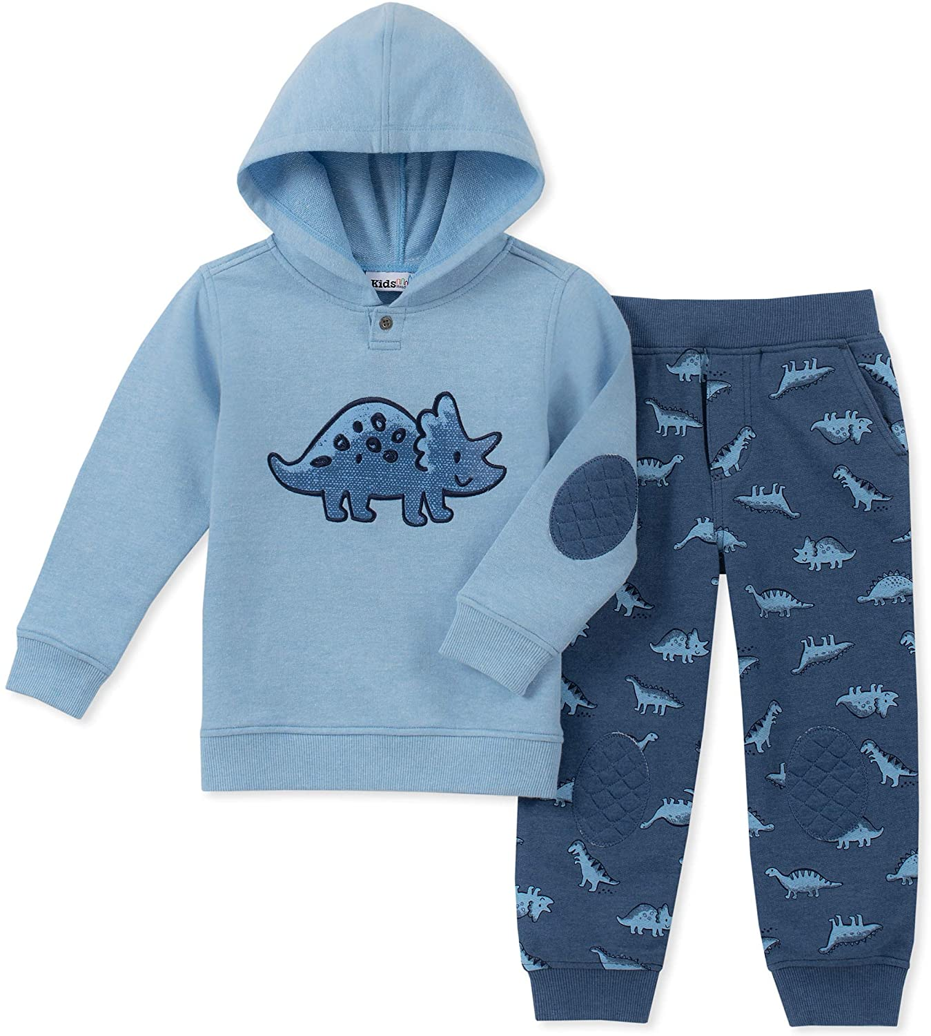 Kids Headquarters Baby Boys 2 Pieces Hooded Pants Set