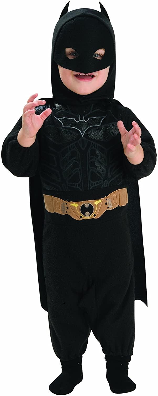 Batman The Dark Knight Rises Batman Romper, Multi-Colored, Infant Costume