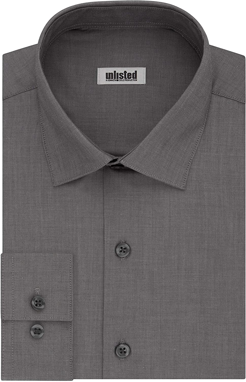 Kenneth Cole Unlisted Men's Dress Shirt Big and Tall Solid