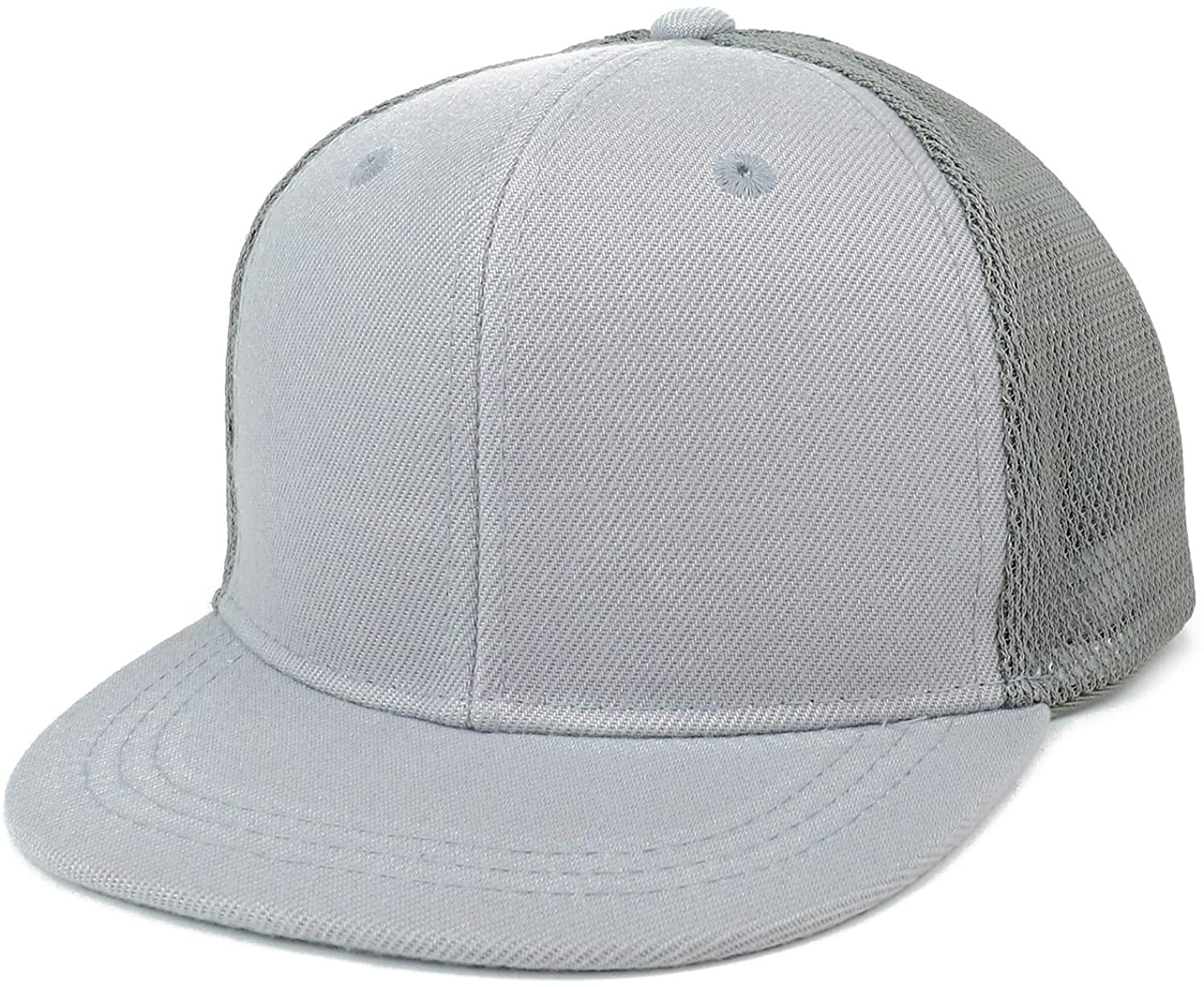 Trendy Apparel Shop Infant to Toddler Size Structured Flatbill Mesh Cap