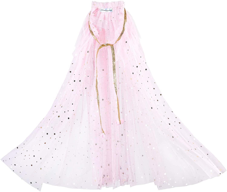 LAMOGALL Princess Cape Cloaks for Little Girls Dress Up