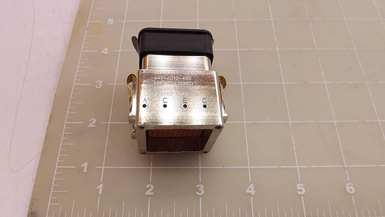 ITT Cannon 449-6012-400, NRP6E1A108SD Connector Plug T34162
