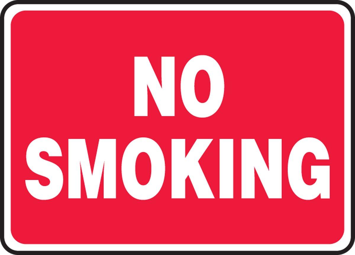 NO SMOKING (3 Pack)