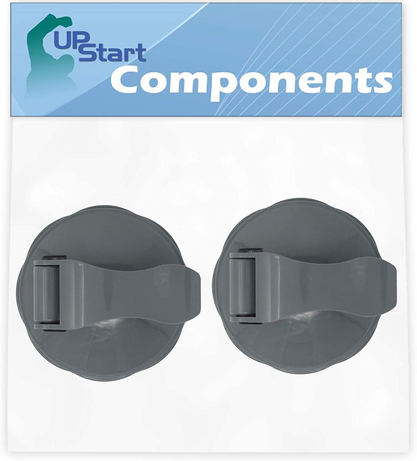 2 Pack UpStart Components Replacement for NutriBullet Flip Top To-Go Lid Compatible with NutriBullet 600W Blender Cups