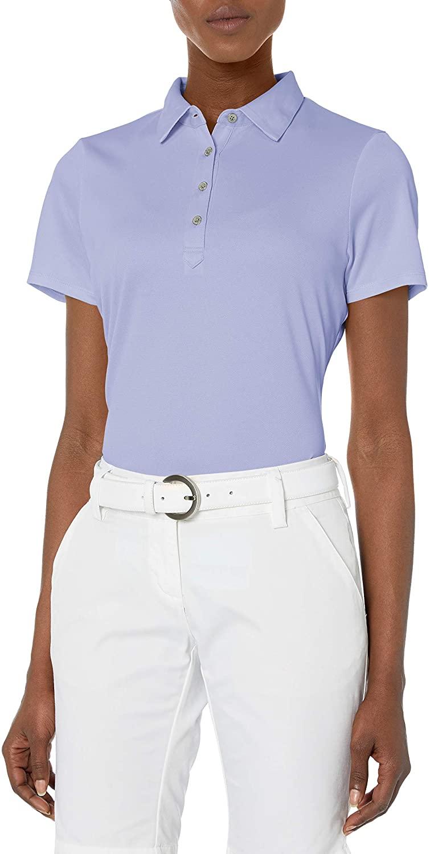 Cutter & Buck Women's Moisture Wicking, UPF 50, Short-Sleeve Fiona Polo Shirt