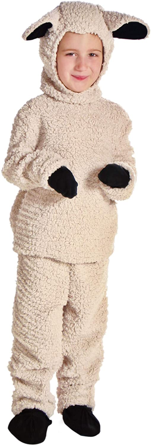 Wooly Sheep Costume for Kids Little Lamb Costume for Children