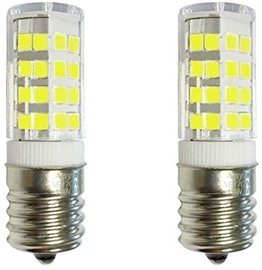 (2)-LED Bulbs Anyray Replacement for Kenmore Microwave 790.80342310 Surface Light Bulb KG33510221 CW