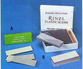 Rinzyl Plastic Micro Slide (B), 1GS