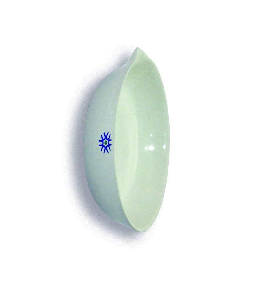 United Scientific Supplies JEF300 Porcelain Evaporating Dish, Flat Form, 300 mL (Pack of 6)