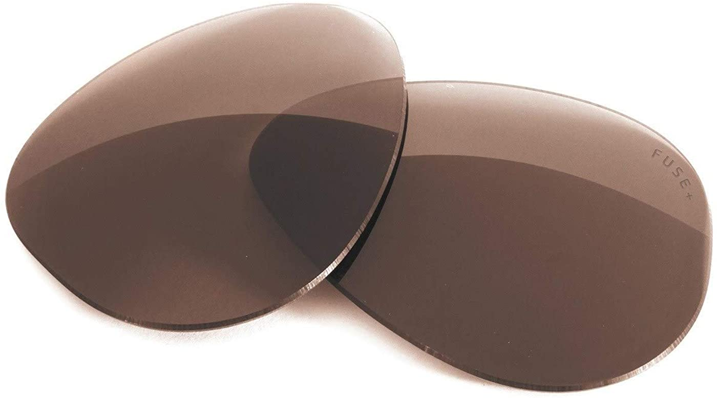 Fuse Lenses Fuse +Plus Replacement Lenses for Ray-Ban RB3561 The General (57mm)