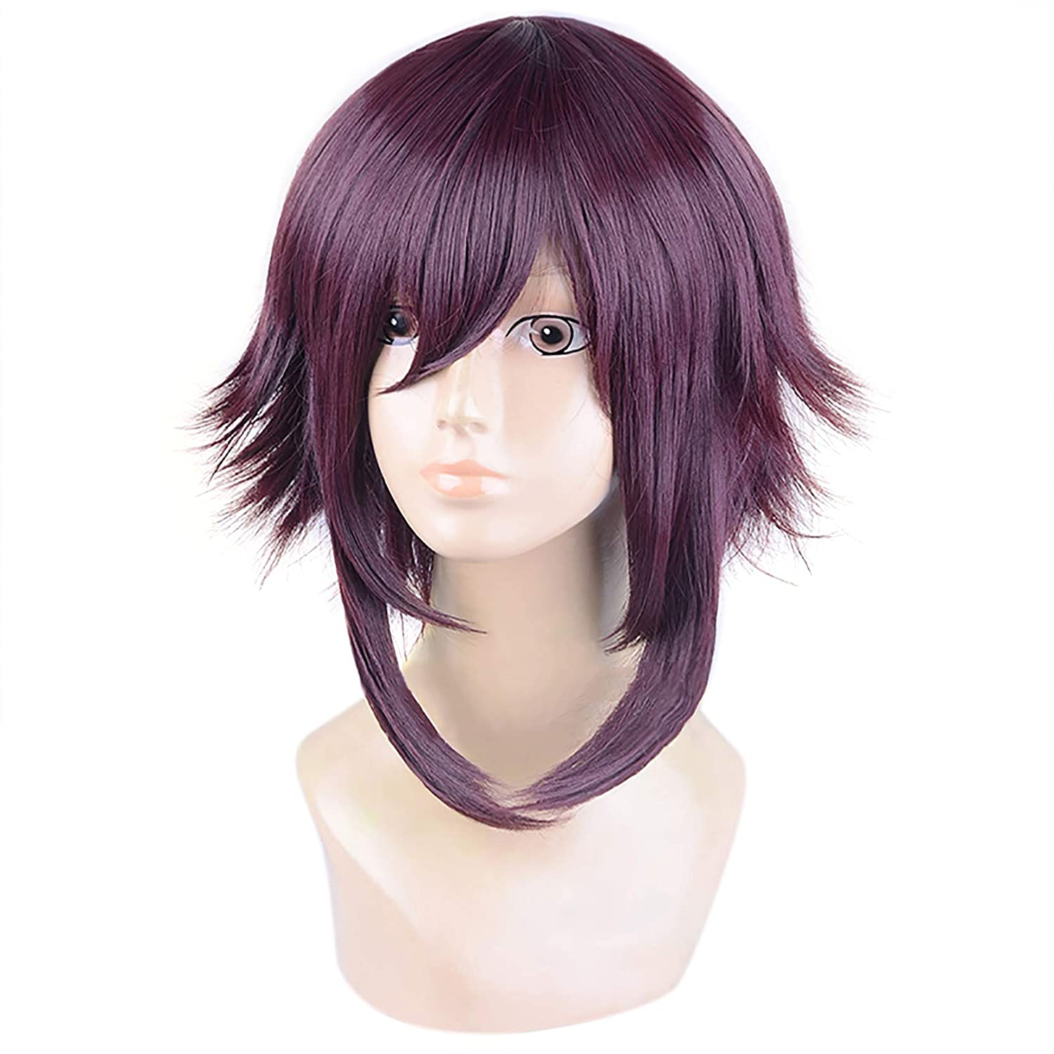 C-ZOFEK Megumin Wig KonoSuba Cosplay Costume Hair (Brown)