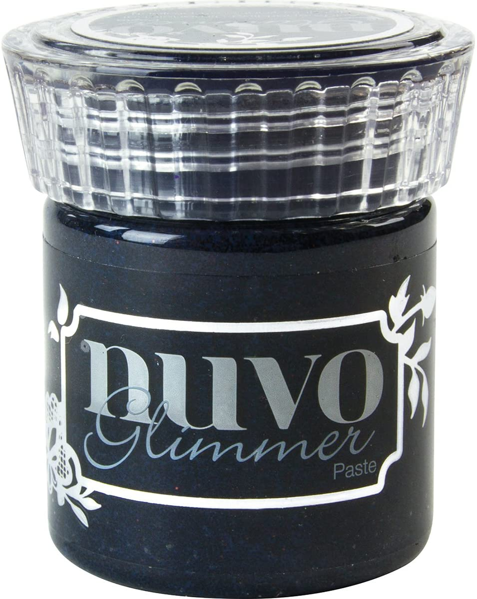 Tonic Studios Glimm Nuvo Glimmer Paste-Black Diamond
