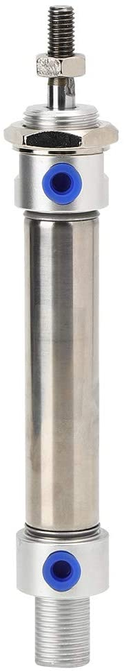 Mini Air Cylinder MA20 Stainless Steel Round Dual Action Device Pneumatic Components(MA2025)