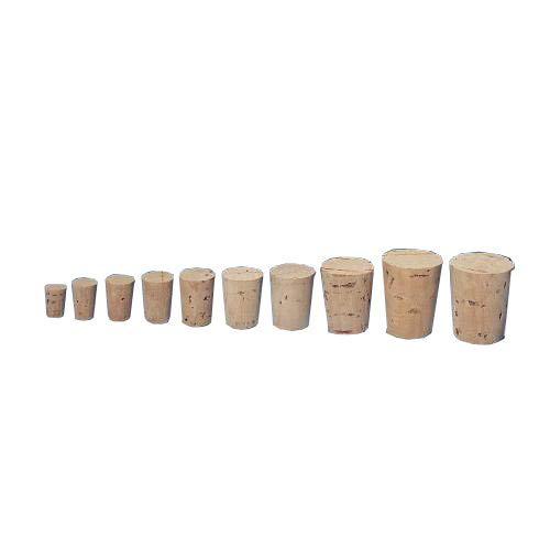 Jelinek Cork RL6 Tapered Cork Stopper, Size 6, 3/4