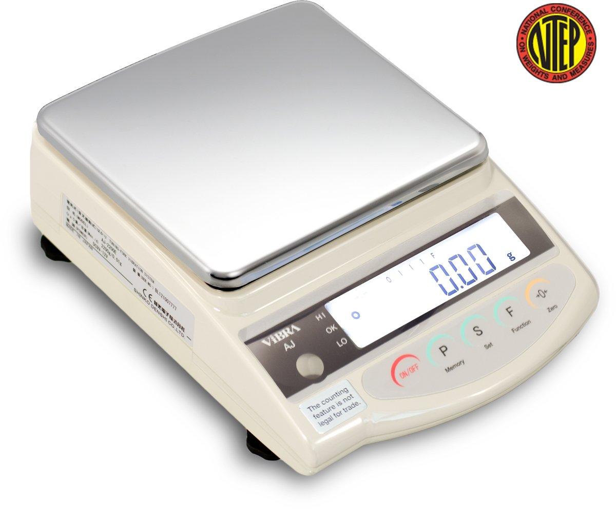 Vibra AJ-1200 Laboratory Prime Precision Balance