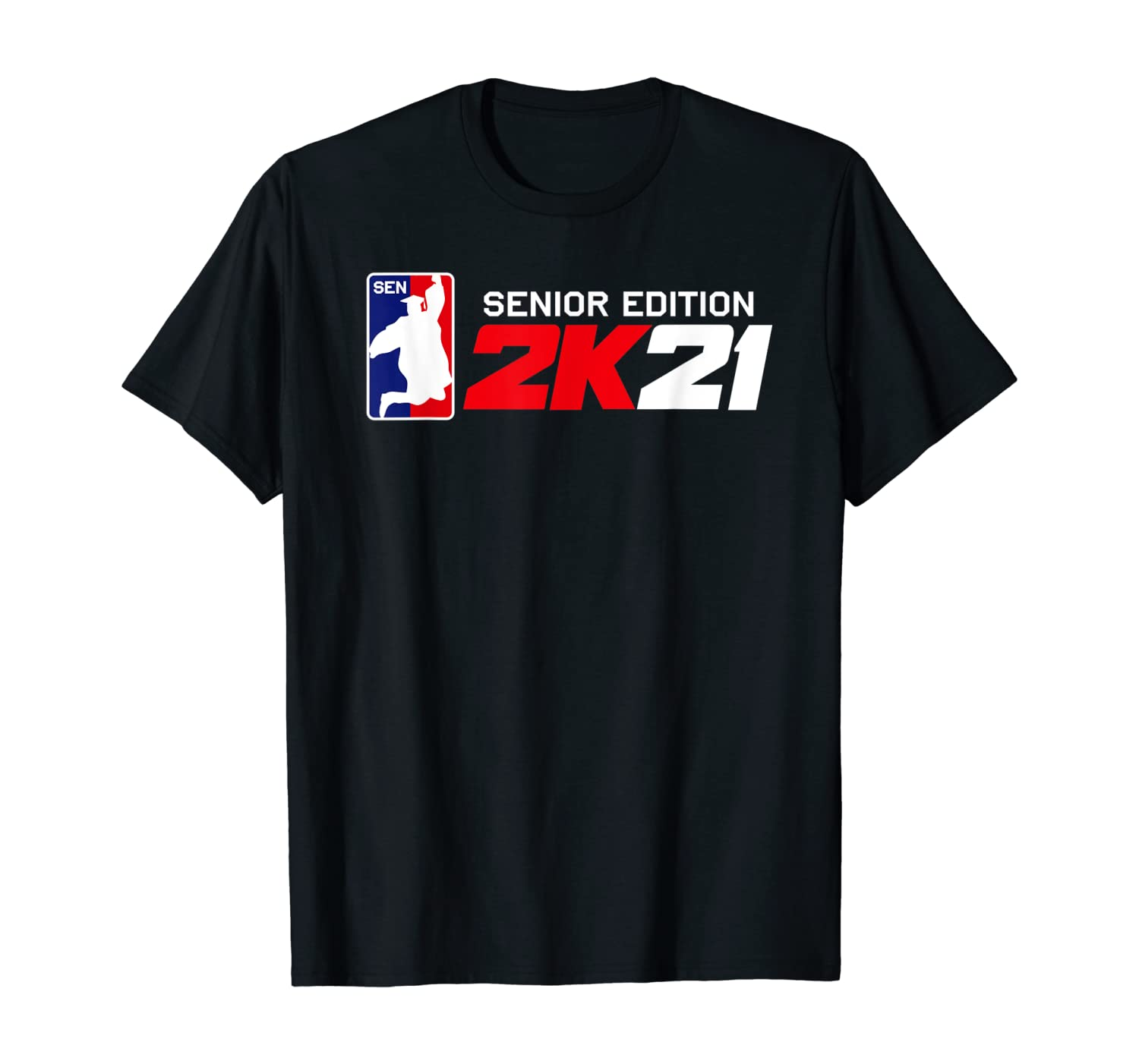 Class of 2021 Senior Year Gamer Style Graduation for Grad T-Shirt