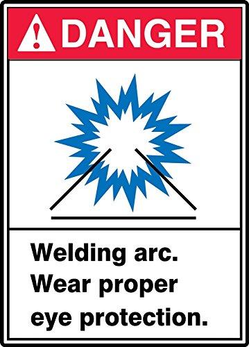 WELDING ARC WEAR PROPER EYE PROTECTION (3 Pack)
