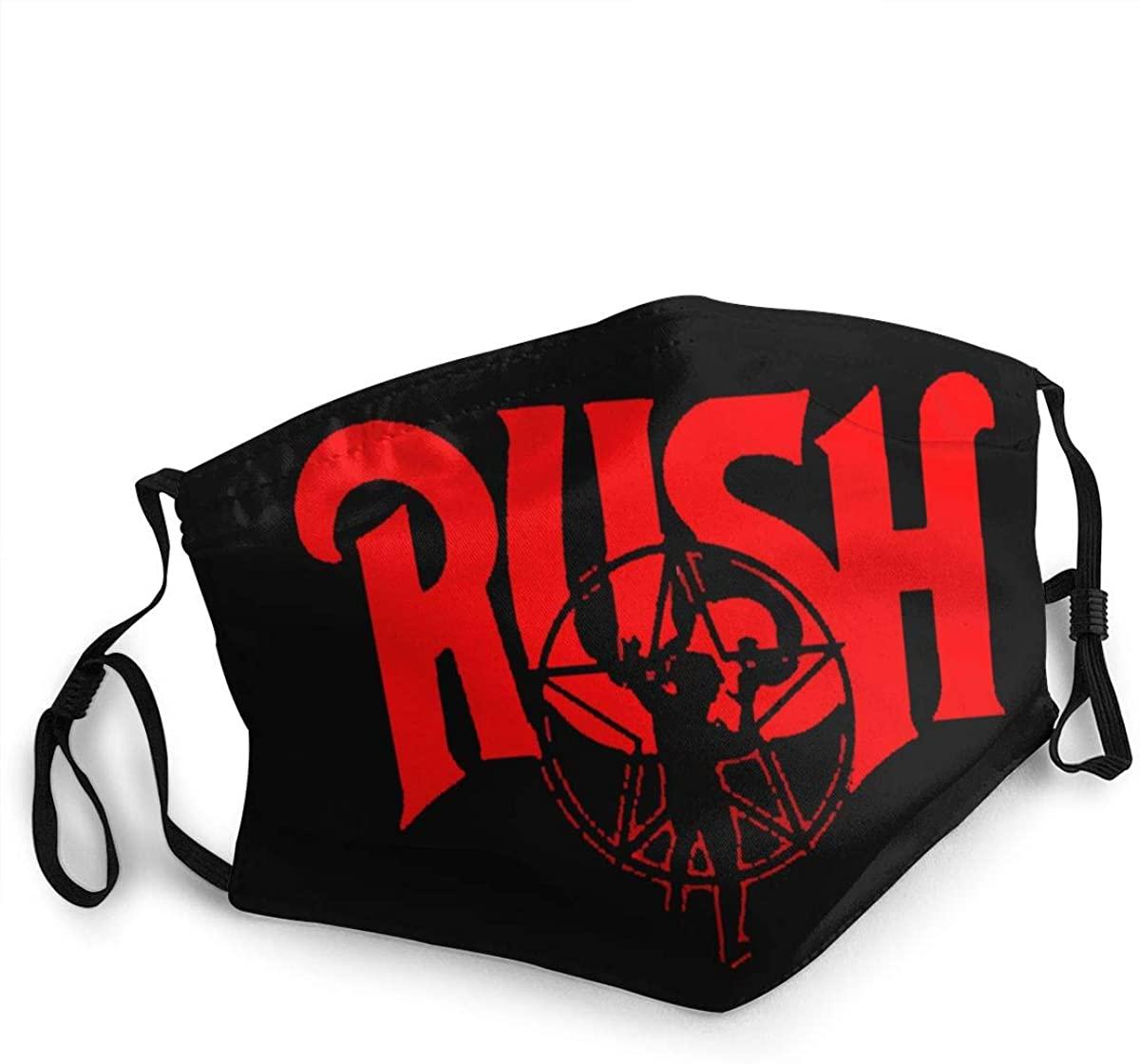 Rush Unisex Fashion Face Bandanas Head Band Wears Scarf Face Tube Neck Scarf Linjiezhuanmai