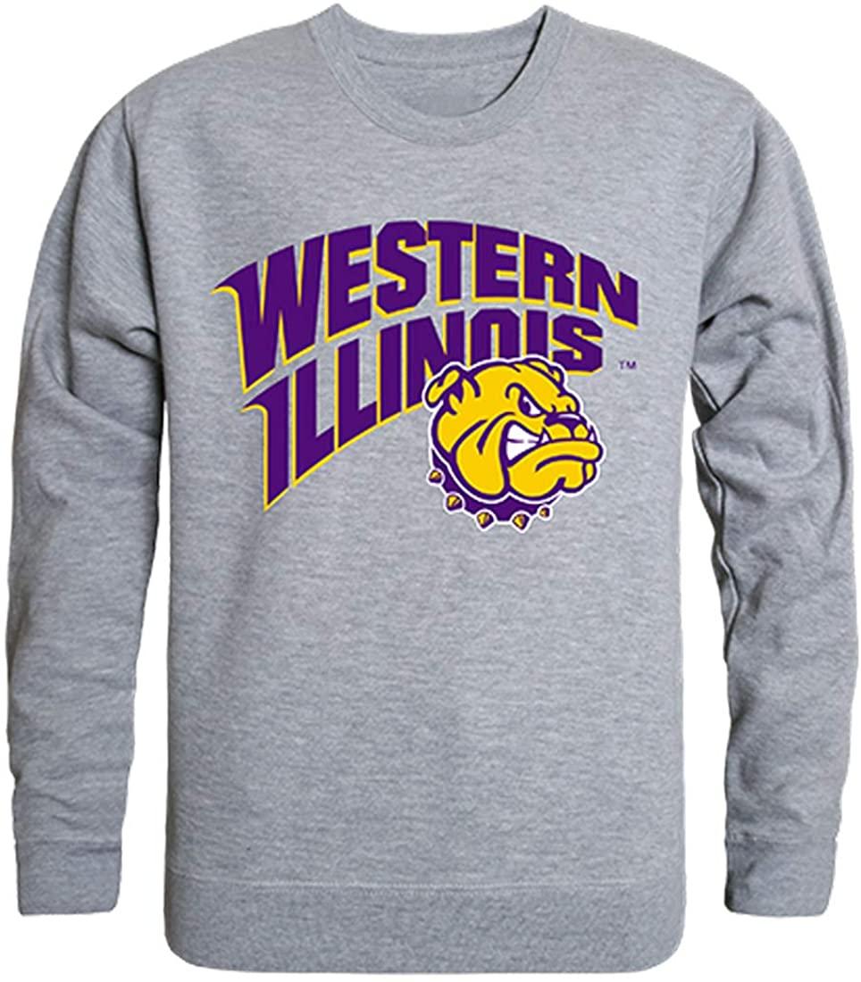 WIU Western Illinois Leathernecks NCAA Men's College Crewneck Fleece Sweatshirt