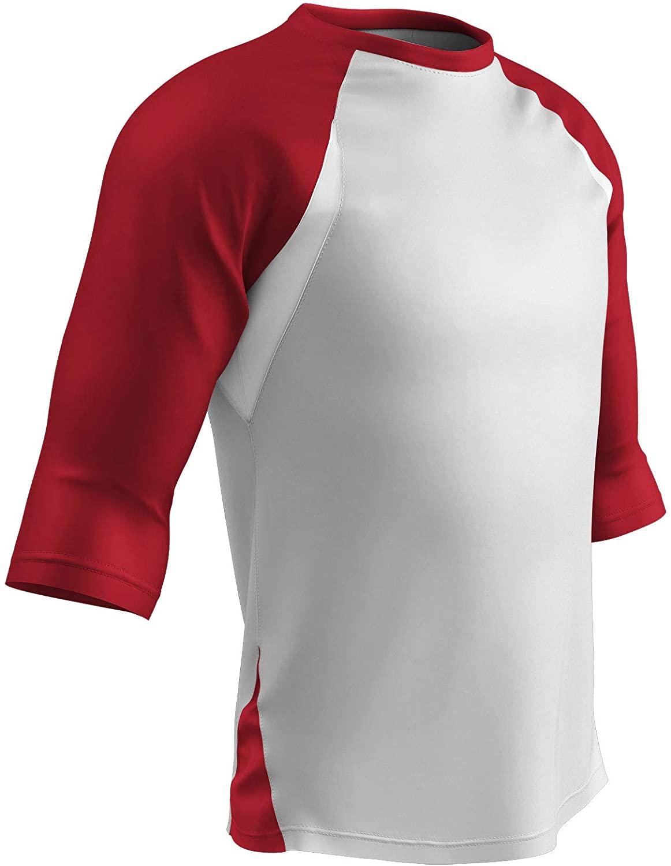 CHAMPRO Complete Game 3/4 Sleeve Baseball Shirt