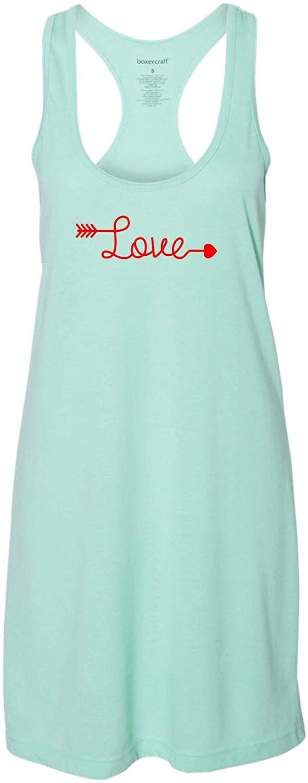 Love Arrow | Cool, Cute & Comfortable | Nightshirt | Nightgown | Sleep Shirt for Women