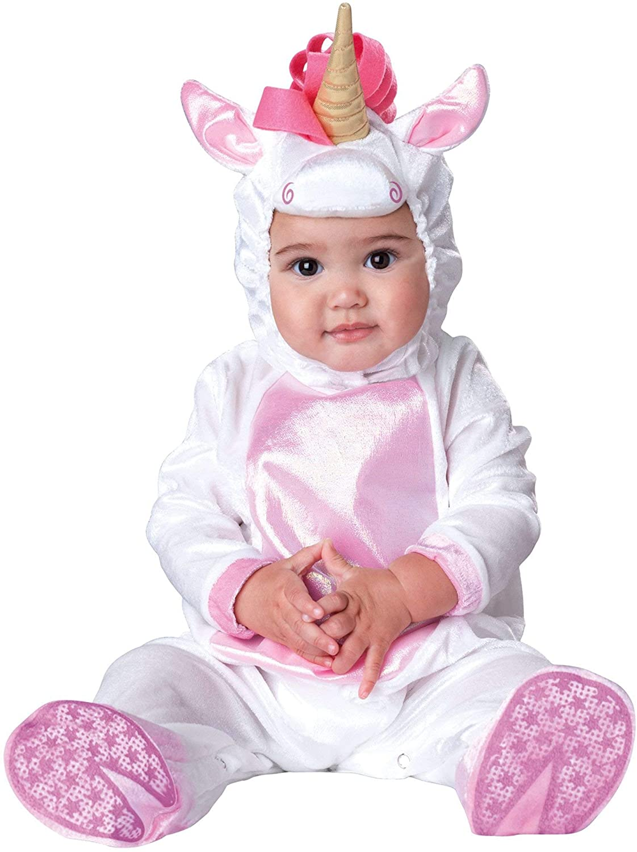 Unicorn Baby Costume White - Infant Small