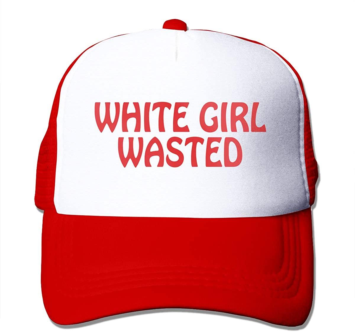 antkondnm White Girl Wasted - Unisex Adult Trucker Cap Hat