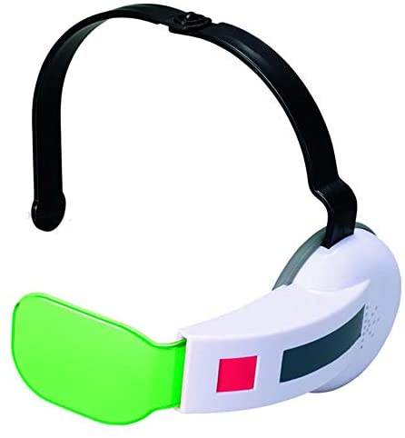 Dragon Ball Z 3 Saiyan Scouter with Sound Green Lens with 2 Cards