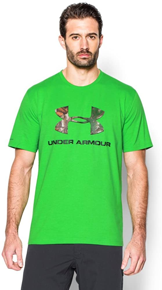 Under Armour Men's Camo Fill Logo T-Shirt
