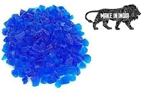 ElysianBlue Crystal Silica Premium Quality Blue Indicating Silica Gel (Blue to Pink) 1000 Gram