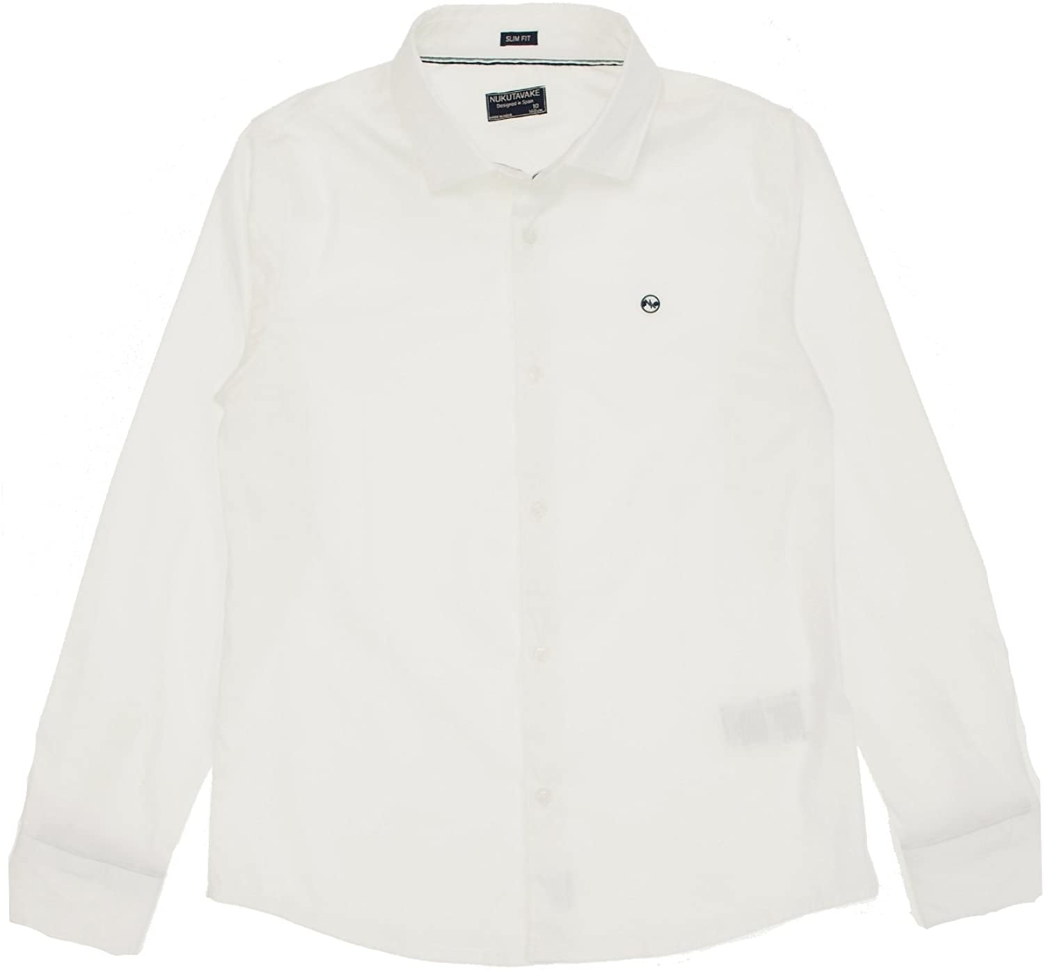 Mayoral - L/s Stretch Shirt for Boys - 6160, White