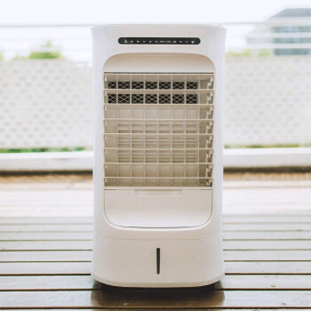 4-1 Portable Air Conditioner with Remote,Small Mute Humidifies Purifies Bladeless Fan for Home Office Adjustable Air Cooler-a 38x31.8x73.6cm(15x13x29inch)