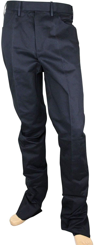 Gucci Men's Military Blue Cotton Drill Pant 406453