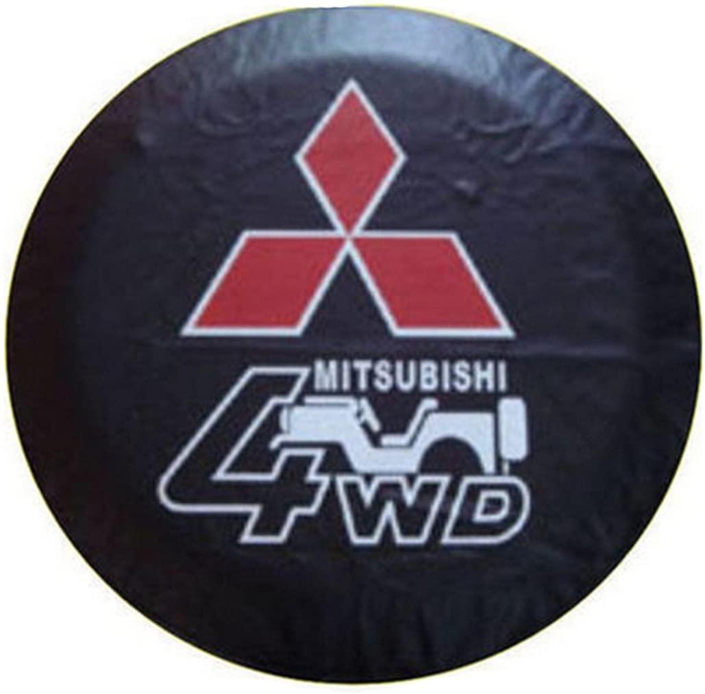 Car Styling 4WD PVC Spare Tire Wheel Cover Off-Road 17 Inch Compatible For Mitsubishi 31