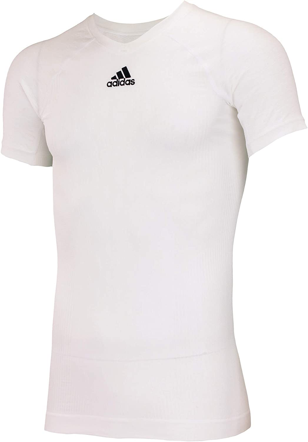 adidas Climacool Primeknit Techfit Mens Performance Compression Short Sleeve T-Shirt