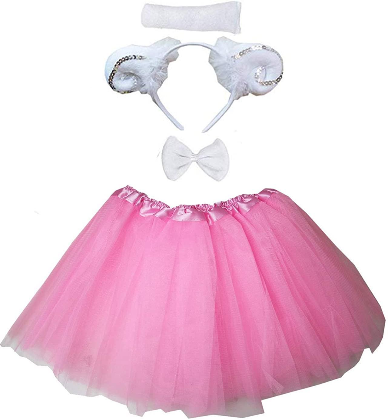 Kirei Sui Kids Costume Tutu Set Pink Sheep