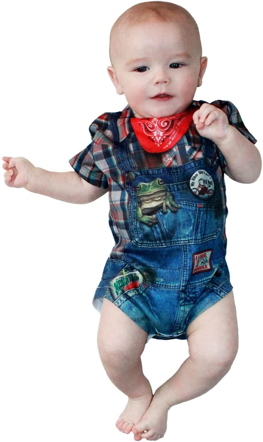 Hillbilly Farmer Romper Infant Costume
