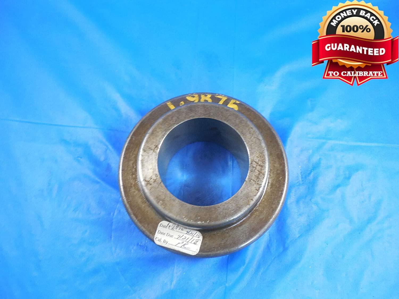 1.9875 Master Plain BORE Ring GAGE 2.0000 -.0125 Undersize 2.0 50.483 mm 2.000