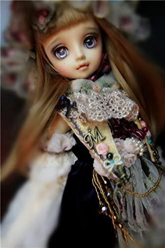 Limited Edition! Fairyland Suit Train Dress / BJD Doll Clothes for 1/3 58CM SD DD AI DOD BJD / Light-Grey Retro Dress